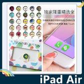 iPad Air 1/2代 卡通HOME鍵貼 支援指紋解鎖 按鍵貼 保護貼 保護膜 Apple 蘋果通用款