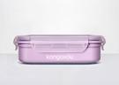 美國kangovou不鏽鋼安全餐盒--紫...