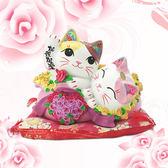 【金石工坊】相親相愛良緣貓(高14CM) 招財貓 情人節禮物 新婚禮物 新居落成 喬遷之喜