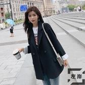 韓版女士西裝外套春秋英倫風小西服套裝上衣潮【左岸男裝】