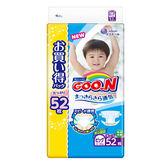 【GOO.N】新版NHK境內版紙尿褲(阿福狗)XL52片x3串/箱-箱購