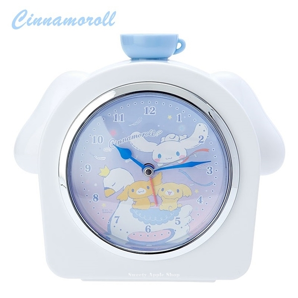 日本限定 三麗鷗 大耳狗 天鵝版 時鐘 / 鬧鐘