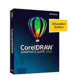 美國代購 CorelDRAW PC教育版 Graphics Suite 2021 | Education Edition | Vector Illustration, Layout [PC Disc]