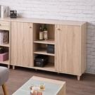 木質 餐櫃 電器櫃 收納櫃 置物櫃 櫥櫃 廚房櫃【N0103】田藤雙門三格廚房櫃 完美主義 AC