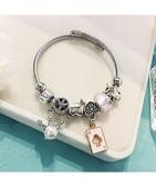 手鐲西西婭 氣質手鐲百搭手錬少女小眾設計韓版簡約個性手環手飾品 特賣