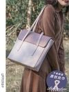 上層空氣側背包女大容量公文方包JK原創小眾設計托特包 黛尼時尚精品