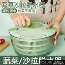 甩幹機 蔬菜脫水器水果甩水籃家用廚房洗菜盆沙拉甩干機手動瀝水籃
