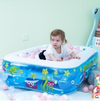 Bestway兒童充氣遊泳池嬰兒成人家用海洋球池加厚家庭大號戲水池  MKS交換禮物