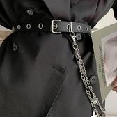 金屬腰鍊配裙子腰帶
