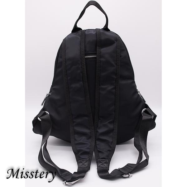 學院風後背包防潑水面料休閒旅遊包 19048BK (Misstery)