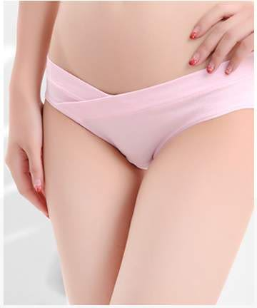 TwinS U型低腰孕婦褲三角內褲時尚前衛【顏色一律隨機發貨】