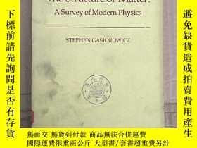 二手書博民逛書店the罕見structure of matter:a survey of modern physics(P3665