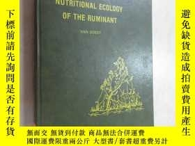 二手書博民逛書店外文書罕見NUTRITIONAL ECOLOGY OF THE RUMINANT 共374頁 精裝本Y1596