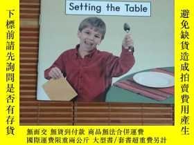 二手書博民逛書店英文原版罕見setting the tableY17584 本書編寫組 本書出版社 出版2009