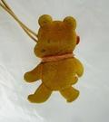 【震撼精品百貨】日本泰迪熊~吊牌別針『附繩』