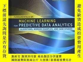 全新書博民逛書店FundamentalsOf Machine Learning For Predictive Data Analy