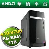 華碩B350平台【金剛戰士】A10四核電腦