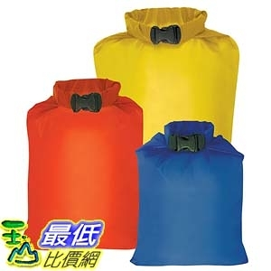 [美國直購] Outdoor Products 3-Pack Ultimate Dry Sack 防水 戶外包 B001AZNATC