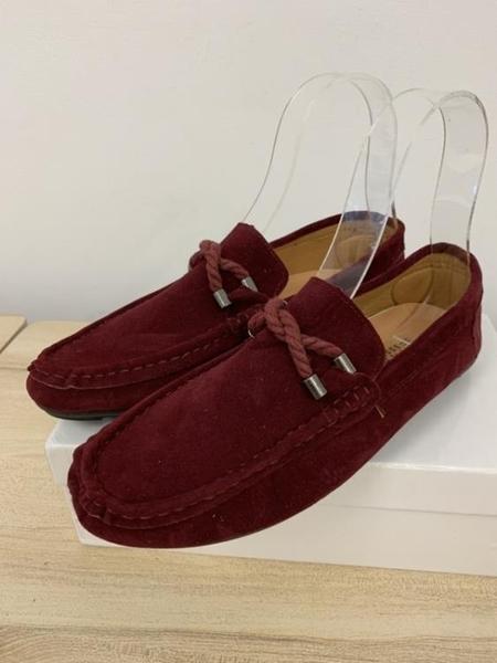 厚底懶人鞋潮款皮鞋休閒鞋(40號/777-1026)