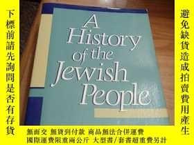 二手書博民逛書店A罕見History of the Jewish PeopleY
