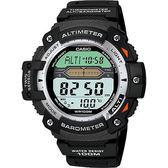 【東洋商行】免運 CASIO 卡西歐 多功能戶外運動錶-銀圈 SGW-300H-1AVDR 手錶 運動錶 電子錶 腕錶