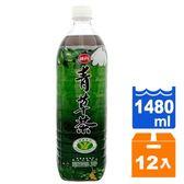 味丹 心茶道 健康青草茶 1480ml (12入)/箱