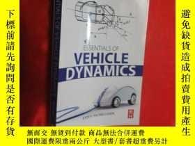 二手書博民逛書店Essentials罕見of Vehicle Dynamics ( 小16開 ) 【詳見圖】Y5460 Pau