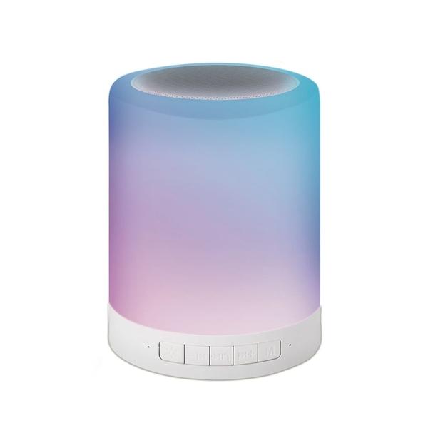 【限時促銷】E-books D14 藍牙LED觸控式夜燈喇叭