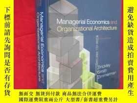 二手書博民逛書店Managerial罕見Economics and Organizational Architecture (大1