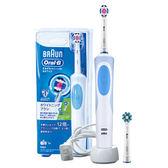 歐樂B Oral-B 活力亮白電動牙刷D12.W(內附刷頭x2)