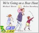 [106美國直購] 2017美國暢銷兒童書 We re Going on a Bear Hunt (Classic Board Books) Board book