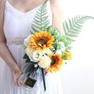 假花 向日葵仿真太陽假花束家居客廳大號裝飾品擺件餐桌插花藝擺件 美物 交換禮物
