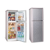 【SAMPO聲寶】140L雙門冰箱SR-A14Q (R8/S6)粉彩紅