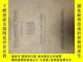 二手書博民逛書店1907年國際函授學院教學用書:建築預算總額與基建。Intern