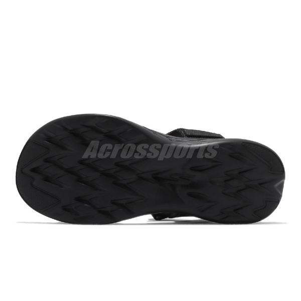 Skechers 涼拖鞋 On The Go 600 Allego 黑 全黑 男鞋 涼鞋 魔鬼氈【ACS】 55383BBK
