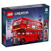 樂高積木LEGO《 LT10258 》創意大師 Creator 系列 - London Bus 倫敦巴士