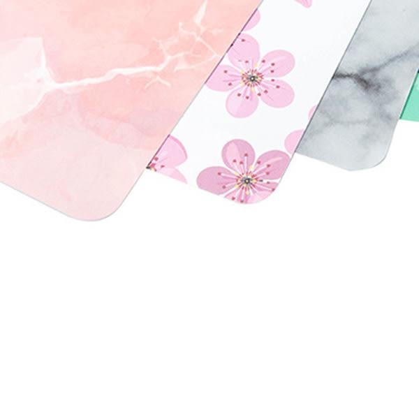 【BlueCat】歐式仿大理石櫻花多肉圖案防水桌墊