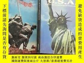 二手書博民逛書店(英文原版)USA:罕見A Picture Book To Re