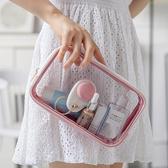 透明防水化妝包 果凍包 洗漱包 PVC 化妝包 沐浴用品收納袋 盥洗包 防潑水 收納包 拉鍊包【RB562】