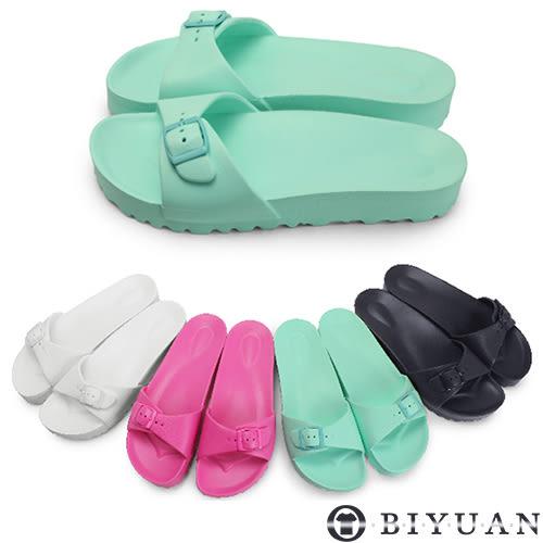 出清不退換(女鞋)MIT涼拖鞋【Q1HC01】OBIYUAN 輕量防水拖鞋出清不退換