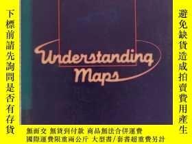 二手書博民逛書店16開英文原版罕見understanding mapsY2819