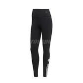 adidas 長褲 Adicolor 3D Trefoil Tights 黑 白 女款 緊身褲 跑步 健身 運動休閒【ACS】 GM6769