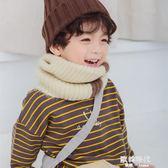 韓版兒童圍巾女女童男童可愛寶寶針織毛線小學生小童圍脖男 歐韓時代