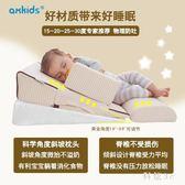 嬰兒防吐奶寶寶0-1枕頭斜坡新生兒喂嗆奶溢奶哺乳枕頭床墊 js3224『科炫3C』
