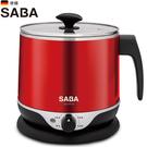SABA 2.2公升雙層防燙不鏽鋼美食鍋 SA-HK14