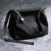 行李包單肩包斜背包/側背包大容量運動健身包出差行李包短途旅行袋男女黑免運直出 交換禮物