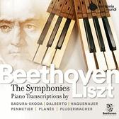 【停看聽音響唱片】【CD】貝多芬:9大交響曲(鋼琴版) 史寇達/普蘭尼斯... 鋼琴 (7CD)