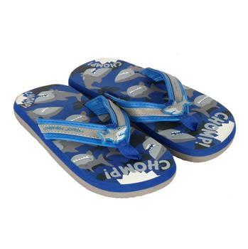 兒童人字拖鞋 stephen joseph 可愛鯊 好萊塢明星風靡 色彩鮮艷可愛造型舒適