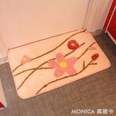 可愛現代風格臥室地毯地墊 浴室防滑腳墊 玄關墊 潔思米 YXS