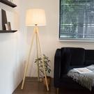 落地燈臥室客廳辦公室簡約現代北歐日式實木溫馨立式三角創意個性 夢幻小鎮